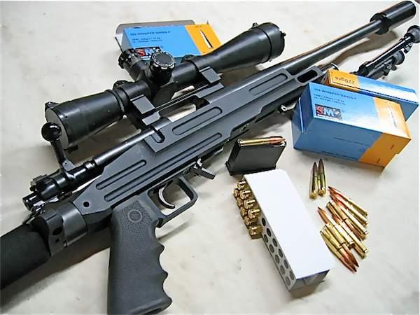 Carabine 300 whisper - Crosse cz 455 ...
